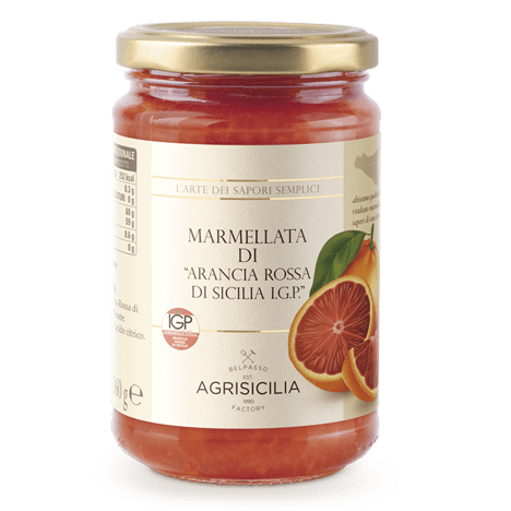 Agrisicilia Sicilian Blood Orange Marmalade I.G.P., 12.7 oz | 360g