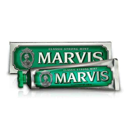 Marvis Classic Strong Mint Toothpaste, 3.86 oz | 75ml