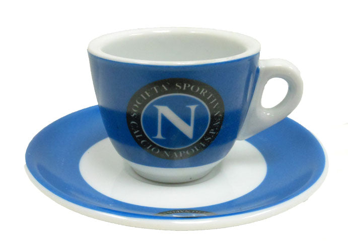 Napoli Espresso Cups and Saucers, Set of 6