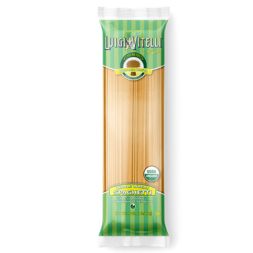 Luigi Vitelli Organic Whole Wheat Spaghetti, 16 oz | 454g
