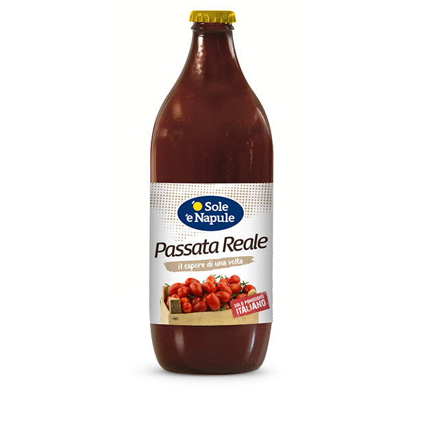 "O Sole e Napule Tomatoes Passata ""Reale"" Glass, 23.2oz 