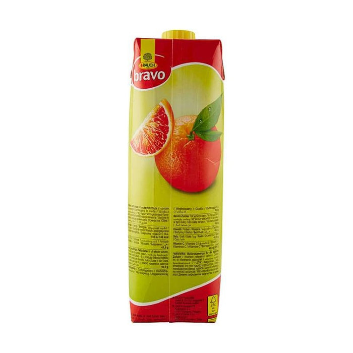 Rauch Bravo Arance Rosse - Blood Orange Juice, 1 Liter - 1000 ml