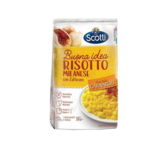 Scotti Risotto Milanese Saffron, With Carnaroli Rice, 7.4 oz | 210g