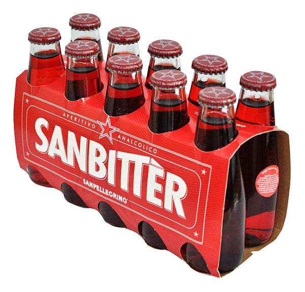 San Pellegrino Sanbitter RED Full Case 40 x 3.4 OZ Bottles