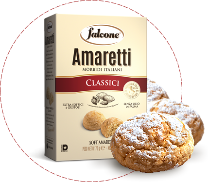 Falcone Classic Soft Amaretti With Almonds, 5.9 oz