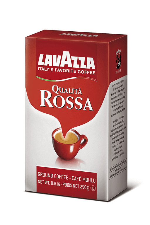 LavAzza Oualita Rossa Coffee, Ground, 8.8 oz | 250g