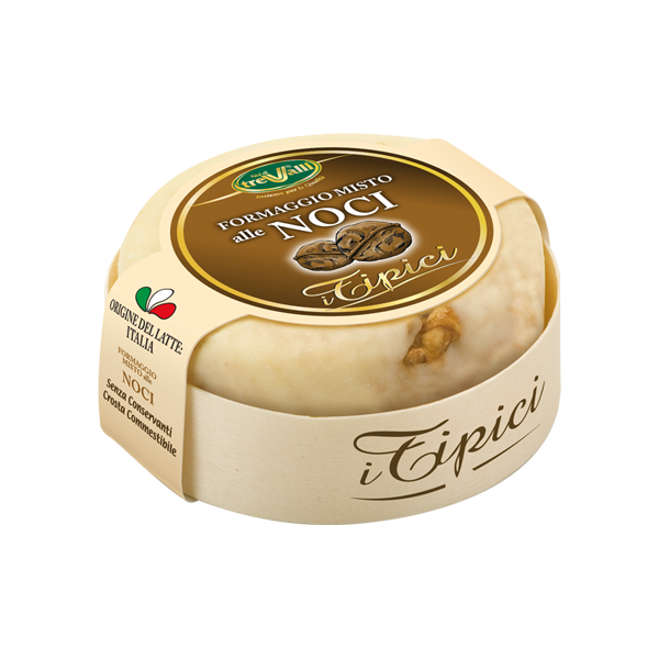TreValli Cheese with Walnuts, 6.3 oz | 180g