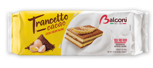 Balconi Trancetto Cacao Cocoa Cream Filling, 280g