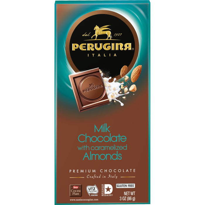 Perugina Milk Chocolate with Almonds, 3 oz | 86g