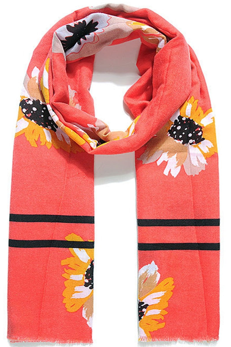 Red Scarf - JC103