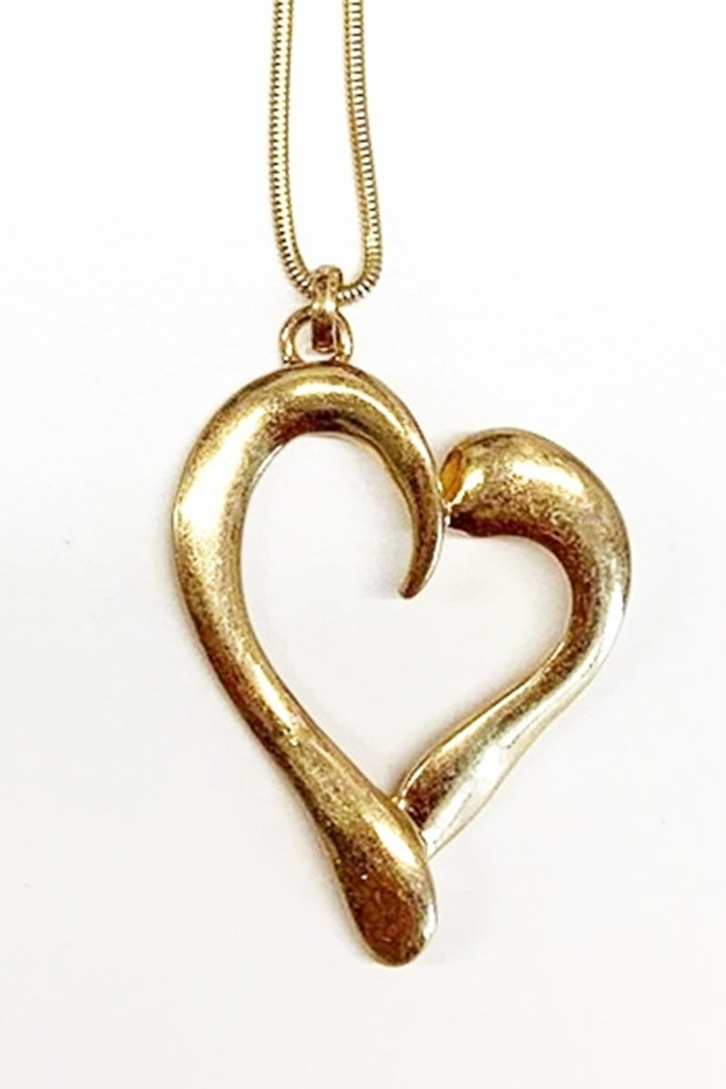 Gold Necklace - A100