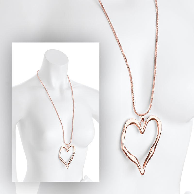 Rose Gold Necklace - 100