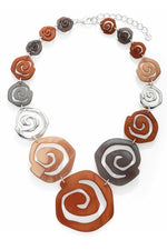 Brown Necklace - Y100