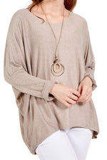 KEIRA Plain Top - Beige