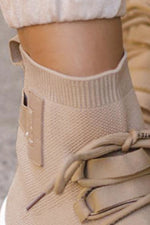 LEXI Wedge Trainer - Beige