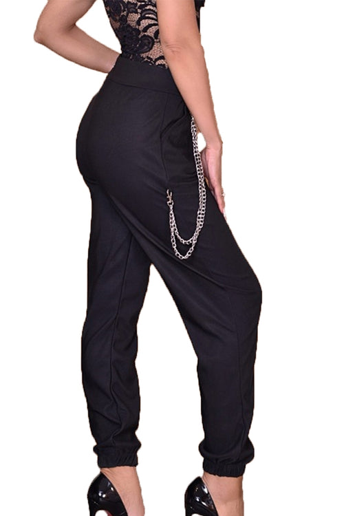 AMELIA Trousers - Black