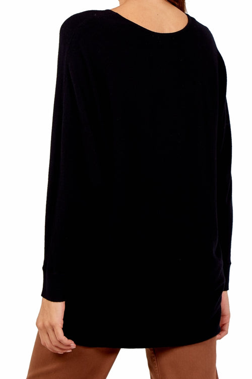 CARRIE Amour Top - Black
