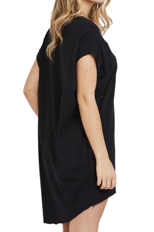 JOYCE Plain Top - Black