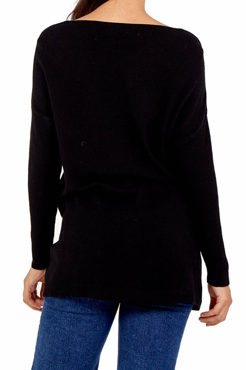 KARA Pocket Top - Black