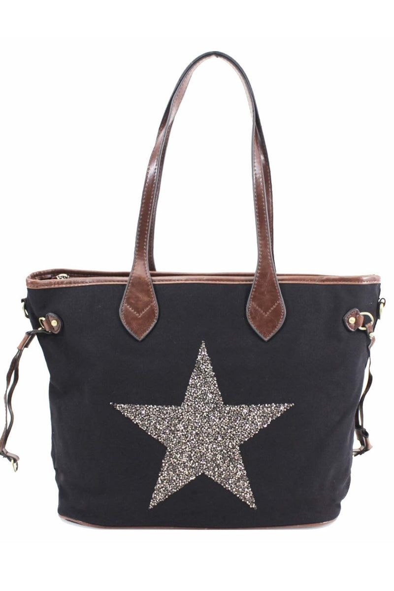 MAUREEN Star Bag - Black