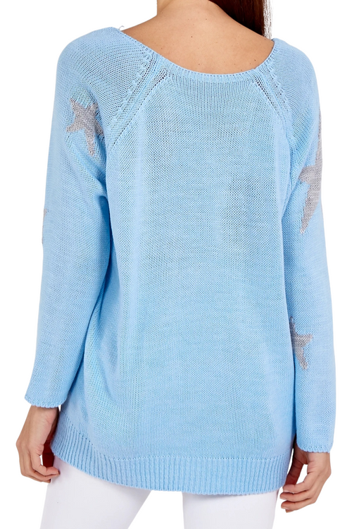 TALIA Star Top - Blue