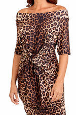 GIANA Dress - Leopard