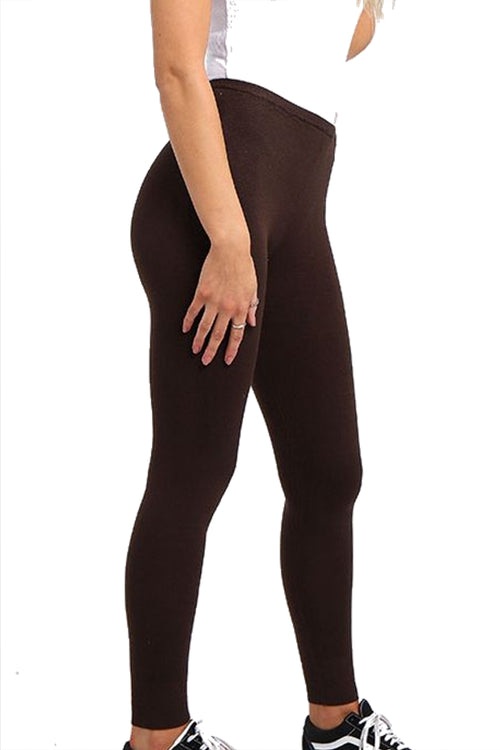 KYLIE Cashmere Leggings - Brown