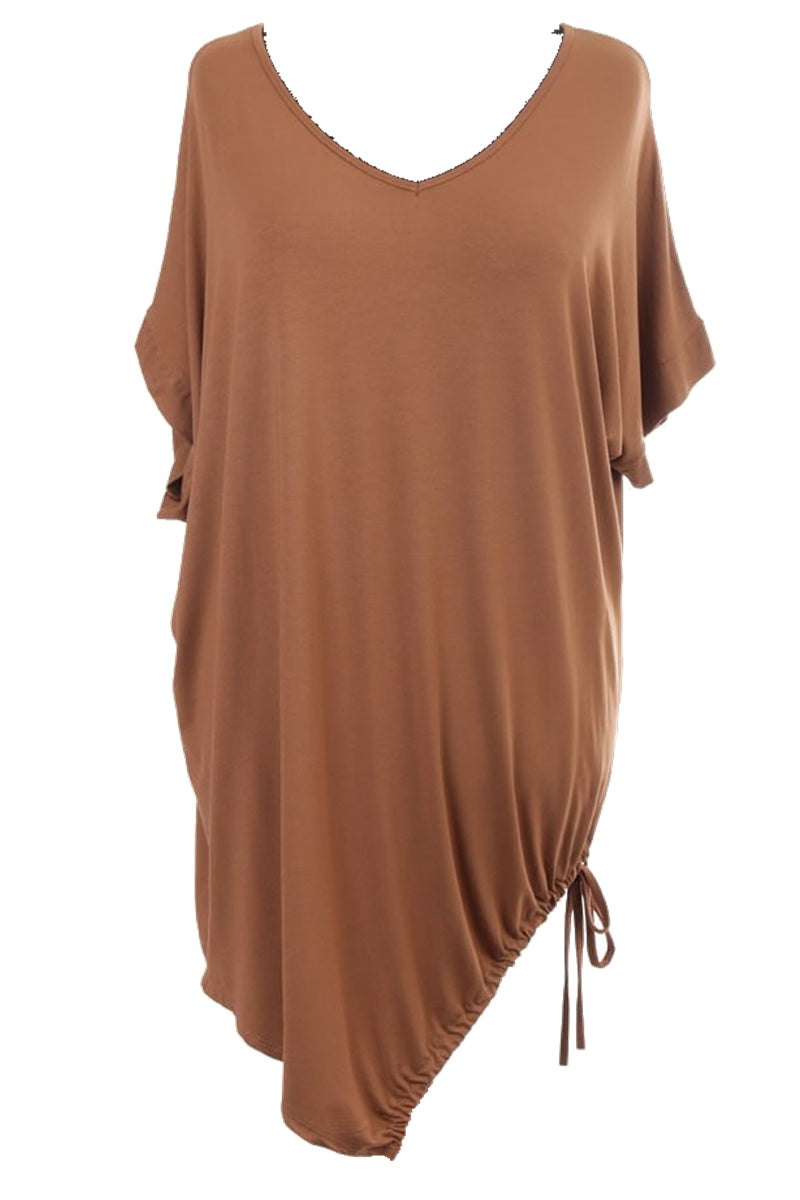 MEG Plain Top - Camel