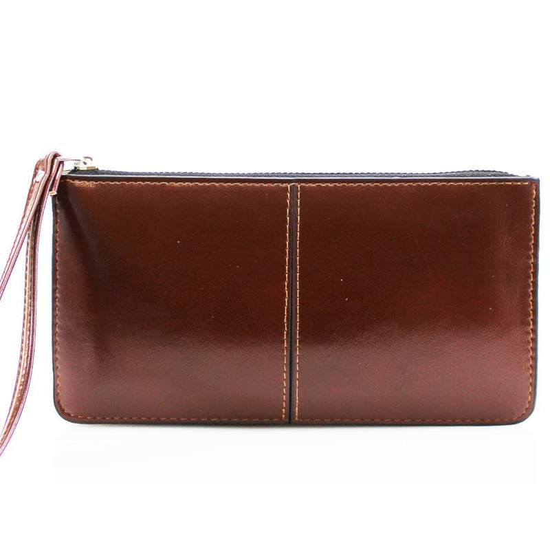 FFION Wristlet Purse - Brown