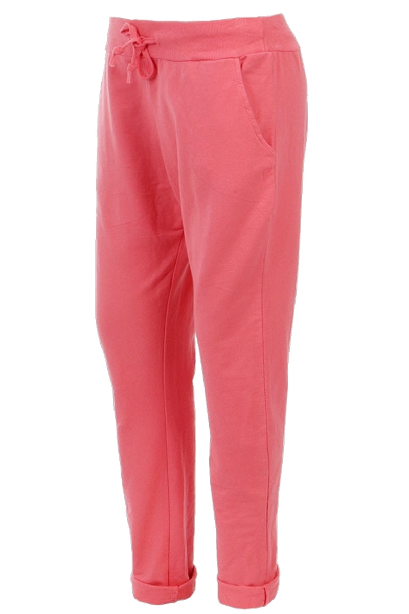 KATE Jogger (Plus Size) - Coral