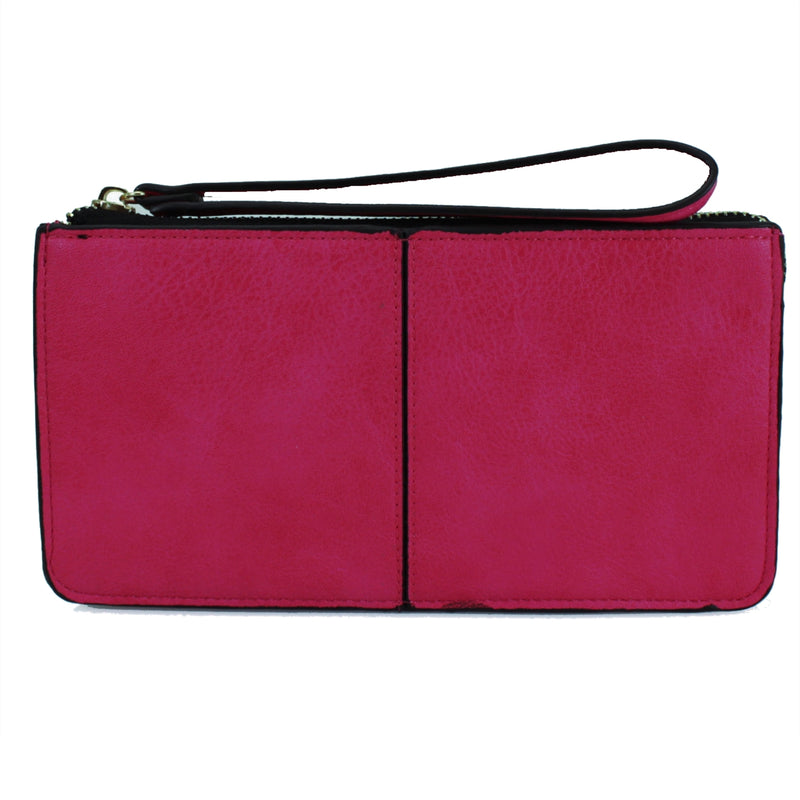 FFION Wristlet Purse - Fuschia