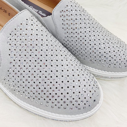 ADELLE Loafer - Grey