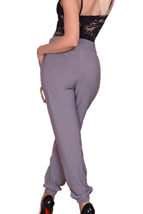 AMELIA Trousers - Grey
