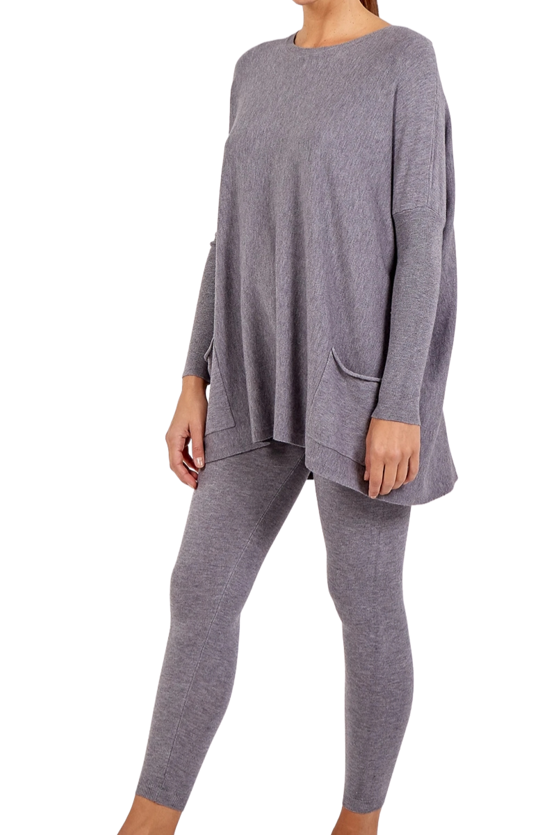 DOROTHY Loungewear Set - Grey