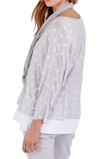 KIKI Spot Top - Grey