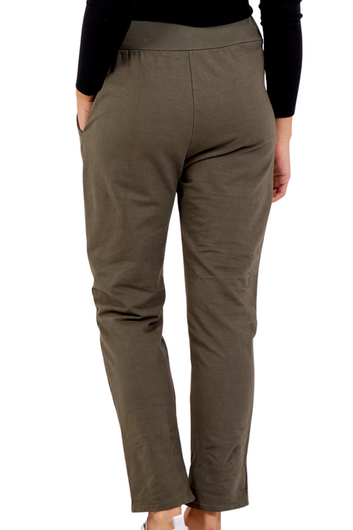 KATE Jogger - Dark Khaki