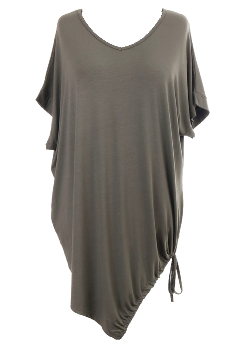 MEG Plain Top - Khaki