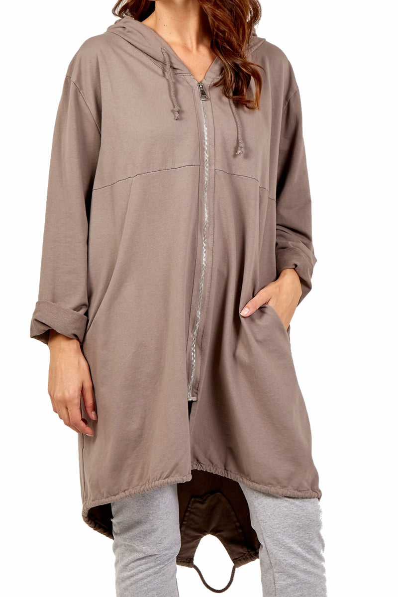 NADINE Plain Jacket - Mocha