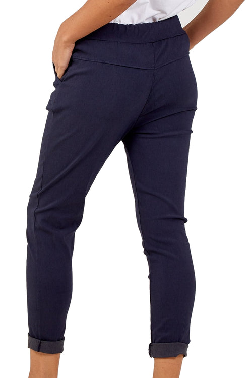 MELINDA Magic Trousers - Navy