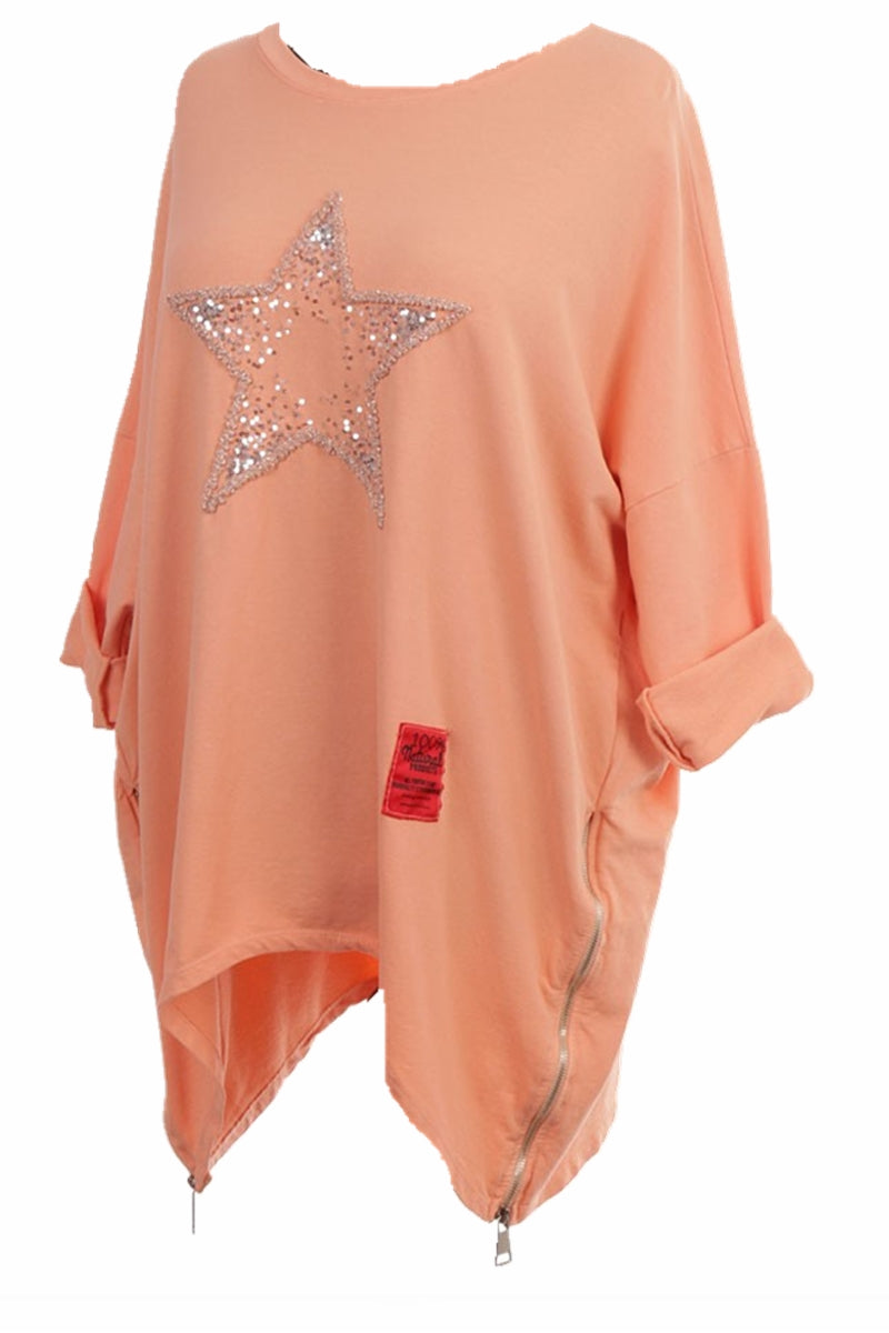 IRIS Star Top - Peach