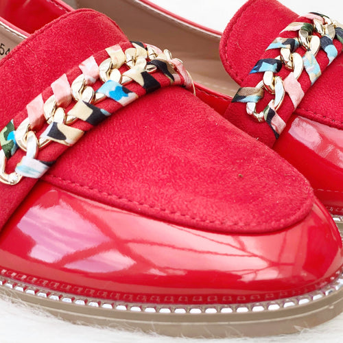 CATHY Loafer - Red