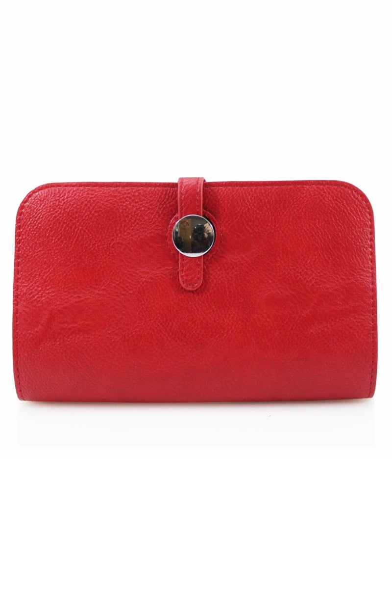 MARIE Dogon Style Wallet - Red