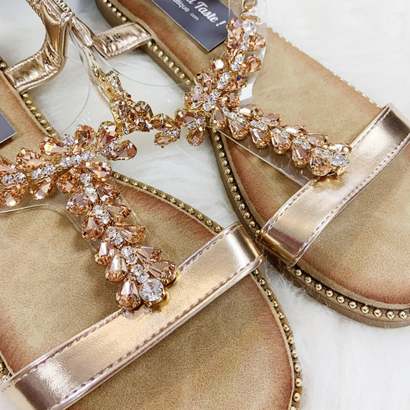TAMARA Sandal - Rose Gold