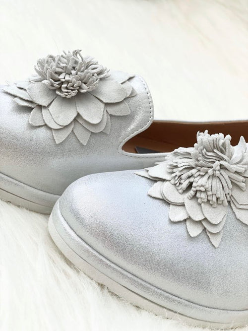 JESSICA Loafer - Silver