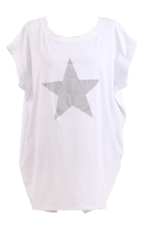 MARTINA Star Top -White
