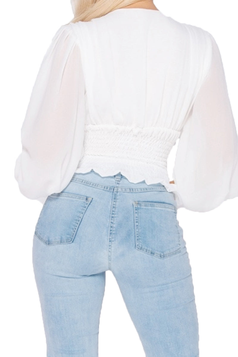 RENEE Top - White