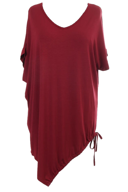 MEG Plain Top - Wine