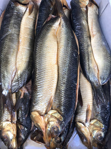Whole Smoked Undyed Kippers