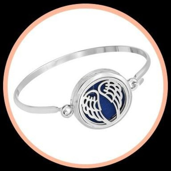 Aromatherapy Bangle Wings Accessories