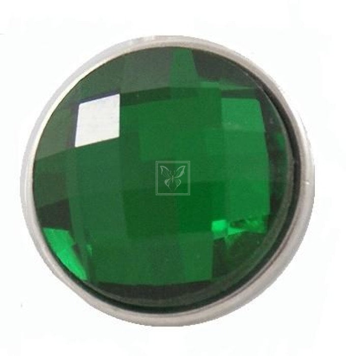 Emerald Elegance Snap Green